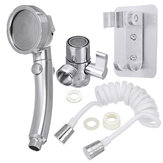 New Upgrade Third Gear Handheld Water Saving Shower Head Faucet Extend Shower Set High Pressure