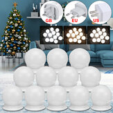 12x USB Hollywood LED Vanity Mirror Maquillaje Tocador Bombillas regulables