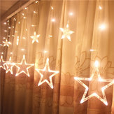 Honana HT-336 220V luce a led String Star Shape Light Home Decor Celebration Festival Wedding