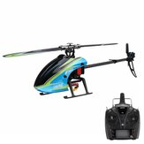 Everyine E160 V2 6CH Dual Brushless 3D6G System Flybarless RC Helicopter RTF متوافق مع FUTABA S-FHSS