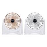 Mini ventilateur de bureau USB rechargeable Bureau à domicile de voyage portable à 3 vitesses