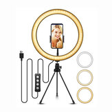 ELEGIANT 10.2 inch Selfie LED-ringlicht met statief voor YouTube Video Live Stream make-up fotografie