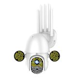 Bakeey 172 LED Câmera IP 5MP infravermelho de visão noturna Áudio bidirecional HD 1080P Câmera de segurança CCTV à prova d'água