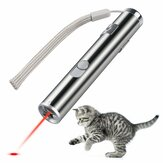 Loskii PT-31 USB Rechargeable Pet Mainan Kucing Pelatihan Toy Laser Pointer Dengan Senter LED