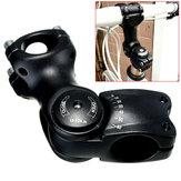 Manubrio BIKIGHT 1pc con angolazione regolabile per manubrio 60 ° per mountain bike