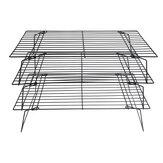 Rack de resfriamento antiaderente Fio grade de assadeiras Forno de cozinha 400x250x15MM