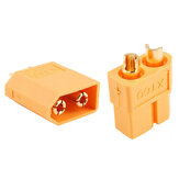 1Pair / 2pcs XT60 Plug Maschio Bullet Connettori per RC Drone Multirotor FPV Racing Batteria