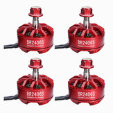 4X Racerstar 2406 BR2406S Fire Edition 2600KV 2-4S Brushless Motor For X220 250 300 for RC Drone FPV Racing
