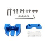 Dotbit® Extrúziós fej rögzítő blokk Több konzol kompatibilis a V6 vulkánkészlettel 3D nyomtatóhoz Ender-3 / CR-10