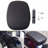 Rear Seat Pillion Cushion Passenger Pad For Harley Sportster XL1200 883 Black