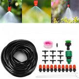 Tubazione 10M Automatico / Irrigazione manuale Sistema di irrigazione goccia a spruzzo Tubo flessibile da giardino Strumenti Kit