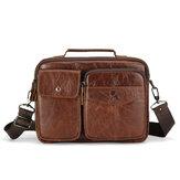 حقيبة كمبيوتر محمول بكتف واحد محمولة في الهواء الطلق كبيرة سعة سحاب حقيبة أفقية لأفراد الأعمال