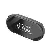 Baseus Wireless bluetooth LED Digital Display Night light Alarm Clock HIFI Speaker For Home & Office