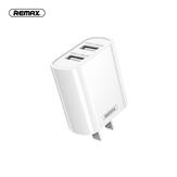 Remax RP-U35 Adaptador de cargador USB dual de carga rápida para iPhone XS 12 11Pro Mi10 S20 +