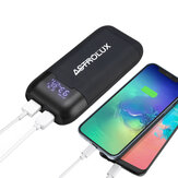 Astrolux® PD2 Type-C 18W QC3.0 PD3.0 Ricarica rapida USB Batteria Schermo caricatore Display Phone Power Bank Intelligent Batteria Custodia Scatola Per Li-ion 21700/20700/18650
