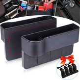 1 Pair of Car Organizer Auto Seat Crevice Gaps Storage Box Cup Mobile Phone Holder for Pockets Stowing Tidying Organizer Car Accessories