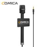 COMICA HRM-S kézi interjúmikrofon okostelefon kondenzátorhoz
