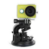 Telesin grande staffa tazza dimensioni ventosa supporto per AEE Gopro Sony AS15 AS30 macchina fotografica di azione di sport