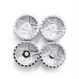 4PCS Orlandoo Hunter llantas de cubo de rueda para OH35A01 OH32A03 OH32P02 1/32 1/35 RC Coche
