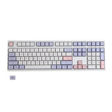 109 Keys Color Matching Keycap Set XDA Profile PBT Sublimation Keycaps for Mechanical Keyboard