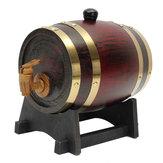 1.5L Oak Wine Barrel Wooden Keg with Spigot for Wine Beer Alcohol