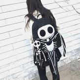 Sac à dos anti-vol pour femme Halloween Skull Backpack