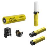 NITECORE MPB21 Kit Intelligent 21700 batterisystem Som LED-lykt Dual funksjon Batterilader, USB-lading 21700 Batteritelefon Powerbank Mini Campinglys