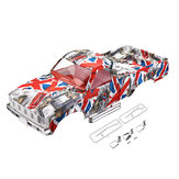 HG P407 1/10 2.4G 4WD RC Spare Parts Camouflage Car Body Shell ASS-08