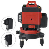 16 Line LD Green Light Laser Level 4D 360° Cross Self Leveling Measuring Tool