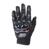 Off-road Riding Guantes Pantalla táctil de invierno Moto MTB Bicicleta Bicicleta Sport Full Finger Warm Black