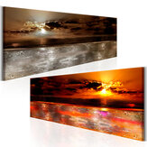 40*120/45*135cm Canvas Unframed Wall Painting Sea Sunset Hanging Pictures Modern Home Wall Decoration Supplies