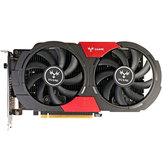 Colorful iGame GTX1050Ti U-4GD5 1379-1493MHz/7000MHz 4G 128bit GDDR5 Gaming Graphics Card