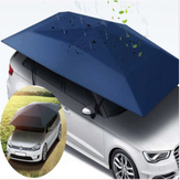 400 * 210 cm 210D Oxford Cloth Coche Shelter Umbrella Tent Roof Shade cubierta de tela de techo Impermeable Anti UV