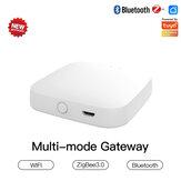 MoesHouse Multi-mode Smart Gateway ZigBee3.0 WiFi bluetooth Mesh Hub Funciona com Tuya Smart App Voice Control via Alexa Google Home