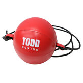 Pelatihan Tinju Bola Karung Pasir Tali ElastisTangan Mata Pelatihan Reaksi Angkatan Latihan Stres Kecepatan Tinju Bola