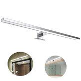 10W 800lm 60cm Applique da parete a specchio per bagno casa impermeabile IP44 alluminio lampada