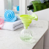 Honana CF-SF03 Collapsible Telescopic Snail Shape Funnel Filling Liquid Water Oil Funnel Transfer