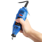 110/220V Electric Grinder Rotary Tool Precision Electrical Hand Drill 5 Variable Speed