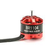Racerstar Racing Edition 1104 BR1104 4000KV 1-2 S Brushless Motor Für 100 120 150 Glas RC Drone FPV Racing