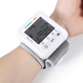 Boxym Pols Bloeddrukmeter Automatische LCD Bloeddrukmeting Elektronische Bloeddrukmeter Tonometer Gezondheid Huishoudelijke hartslagapparatuur