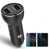 Bakeey QK518 Dual USB Quick Charge 3.0 Fast Car USB Charger for iPhone for Samsung Xiaomi Huawei