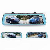1080P Rückspiegel Auto DVR Dash Cam Kamera Recorder Dual Lens