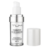 30ml TLM Color Changing Liquid Foundation Makeup Change To Your Skin Tone By Just Blending Liquid Cover Concealer
