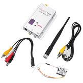 Trasmettitore FPV wireless Partom 1.2G 12CH 200mW con Fox-R02 12CH FPV ricevitore Combo per RC Drone Aeroplano a lungo raggio