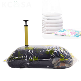 KCASA Vacuum Compress Bag Vacuum Storage Bag Save Space Saving Seal Quilts Clothes Holder Organizer