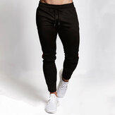 Men Sport Pants Elastic Waist Sweatpants Jogger Dance Harem Pants Spring Autumn Winter Long Pants