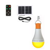 2in1 Portable Camping Light Bulb Outdoor LED Solar Power Mosquito Repellent Lamp