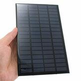 2шт 18В 2.5Вт мини поликристаллическая Солнечная панель фотоэлектрическая панель для DIY