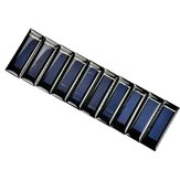 10PCS Mini 0.5V 100mA DIY Polycrystalline Silicon Solar Panel