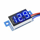 5Pcs Geekcreit DC 0-200V 0.36 Inch Mini Digital Volt Meter Voltage Tester 3 Wire Digital Volt Indicator Car Voltmeter
